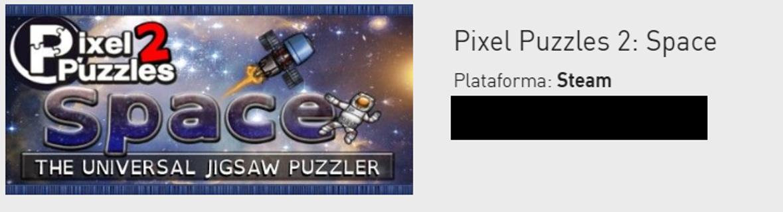 Pixel Puzzles 2 - Space