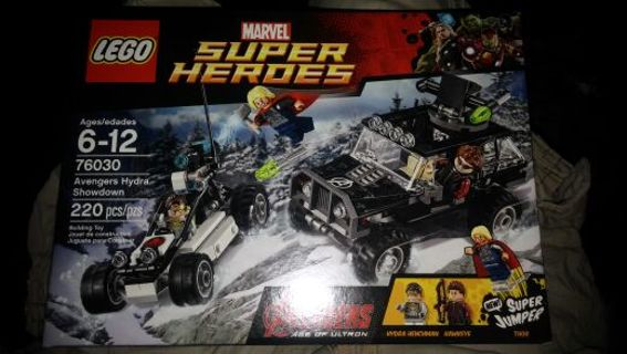 Lego Marvel set 76030. Bnip