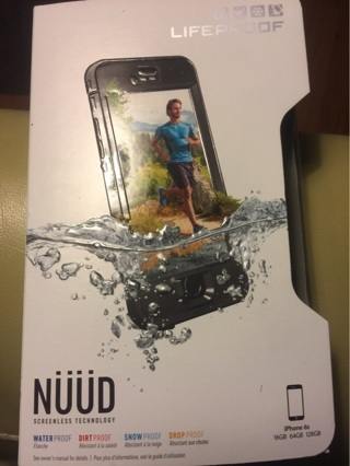 New Lifeproof IPhone 6S Water & Shatter Proof Case Lifetime Warranty
