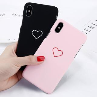 Shockproof Heart Matte Hard Ultra Slim Case Cover For iPhone XS Max XR X 8 7 5 6