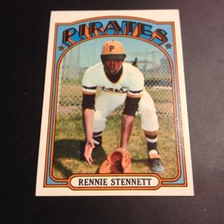1972 Rennie Stennett Card