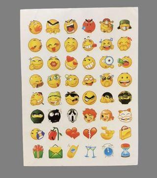 Emoji Smile Face Stickers