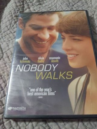 DVD Nobody Walks