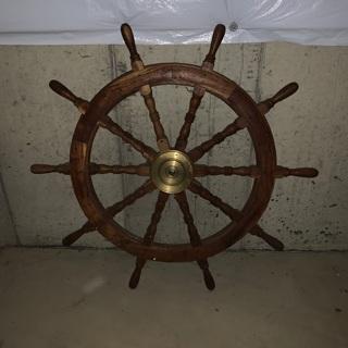 """48"""" ship wheel"""