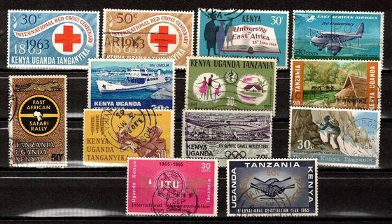 Kenya Uganda Tanzania 1960s Commemoratives