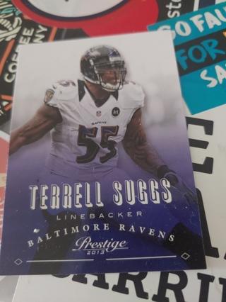 2013 Panini Prestige Terrell Suggs Baltimore Ravens