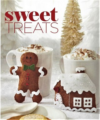 """SWEET TREATS"" PATTERN~MAKE FELT BINGERBREAD BOY OR HOUSE FREE SHIP"