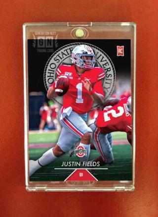Justin Fields Rookie Card / QB / Ohio State / Generation Next