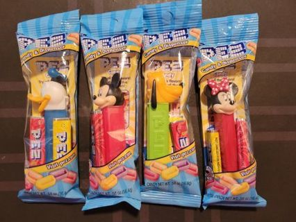 4pc Disney Pez Dispenser Lot