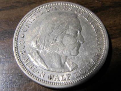 1893 90% Silver Columbian Exposition U.S. Commemorative Half Dollar