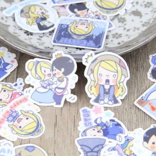 ✅ Cinderella Story Kawaii High End Sticker Flakes Set of 10 BRAND NEW ✅