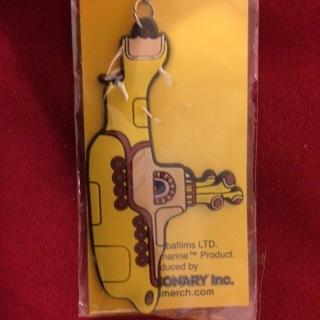 Beatles Yellow Submarine Keychain