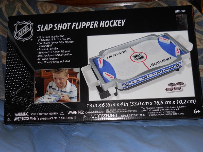 Free New Nhl Slap Shot Flipper Hockey Game Other Toys Hobbies