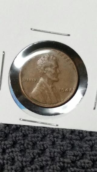 1948 Wheat Back Penny
