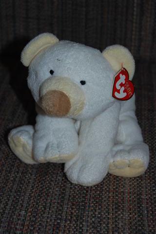 Free  Ty Beanie Baby Pluffies Polar Bear Cloud - Dolls   Stuffed ... df14c2f3283