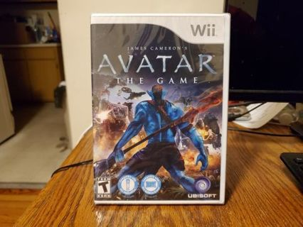 Avatar The Game Wii Brand New Factory Sealed