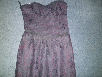 VINTAGE LADIES LACE DRESS SZ4 SCOTT MCCLINTOCK GUNNE SAX BY JESSICA MCCLINTOCK PERFECT FREE SHIPPING