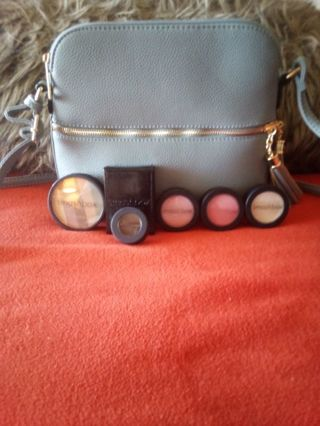 stuffed purse with smashbox makeup and more