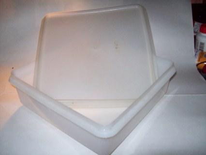 tupperware square container