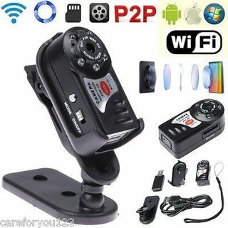 Mini Q7 WIFI P2P DVR Surveillance Wireless Camera Video Recorder Night Vision(20)