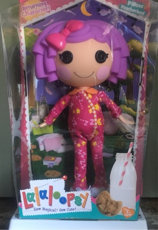 ➿Lalaloopsy Pillow Featherbed Doll Sew Magical Sew Cute➿BNIB