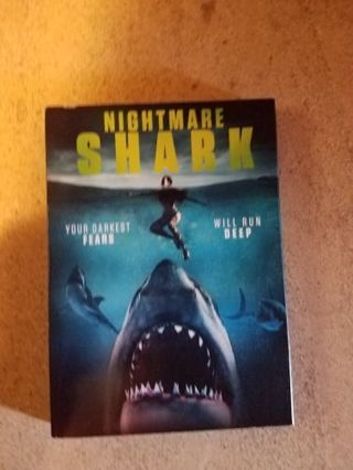 Nightmare Shark (dvd)