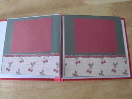 Christmas Themed Scrapbook Album