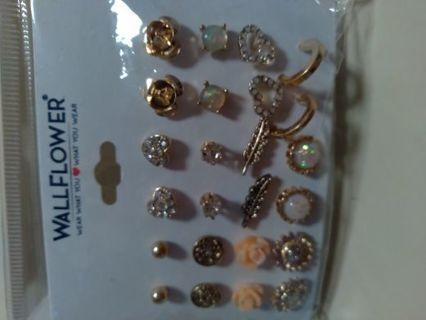 Multi earring pack brand new