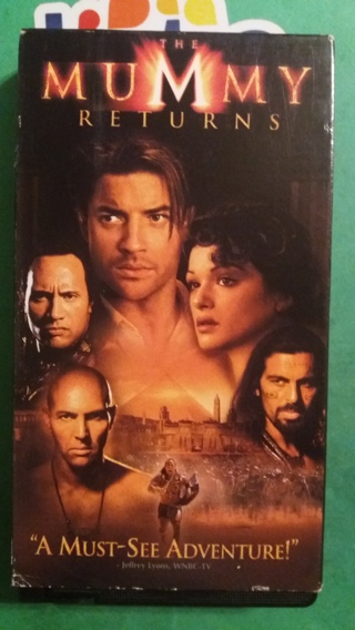 VHS movie  the mummy returns  free shipping