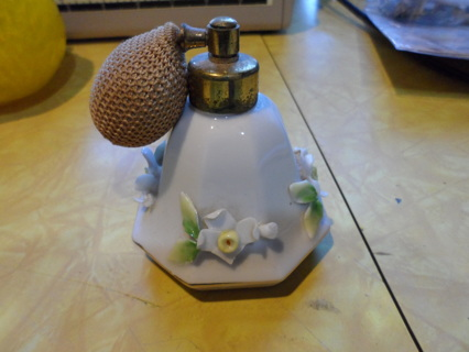 perfume bottle ceramic very old