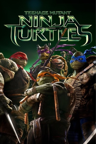 Ninja Turtles (2014) HD Digital Copy