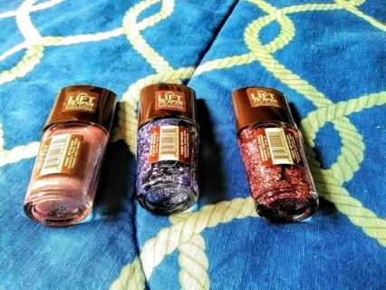 3 New Mineral Fushion Organic Nail polishes