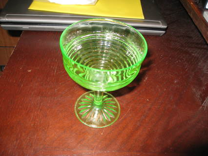 Depression glass.
