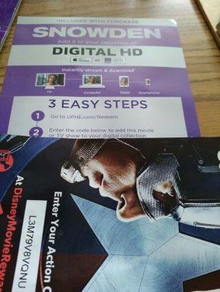 Snowden digital copy