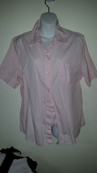 Ladies XL Eddie Bower cotton shirt