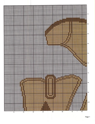 Free: Cowboy Boots Cross Stitch, Crochet or Stamp Quilt Pattern ...