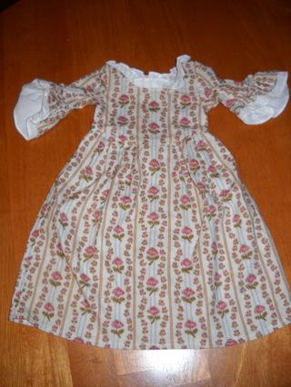 American Girl Pleasant Company Felicity Dress/ Free Shipping