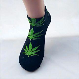 1 pair of unisex leaf socks! Brand new