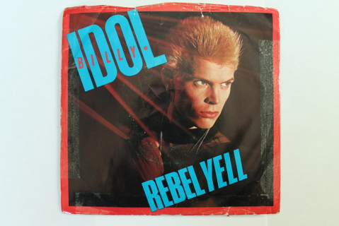 45 RPM w/ Picture Sleeve Billy Idol