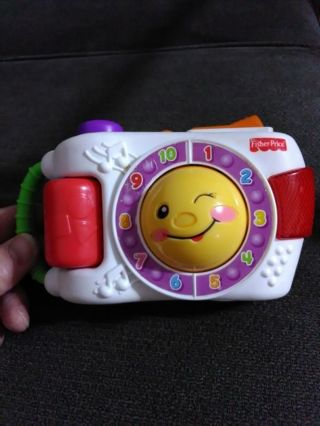 Adorable Fisher Price talking play camera