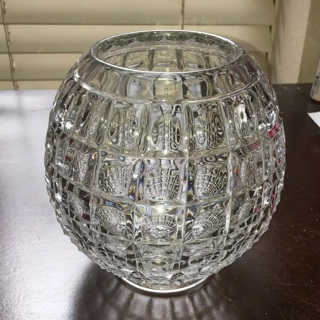 Crystal Candy Dish Vintage 1940