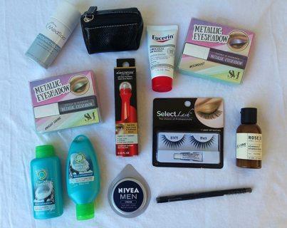 NEW Beauty Travel Kit Lot