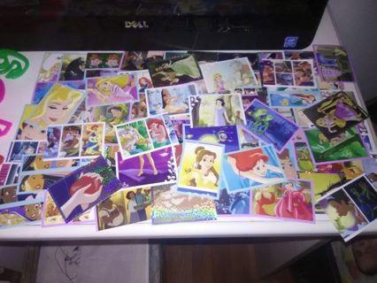 HUGE Lot of Disney Princess Stickers