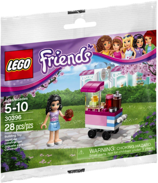NEW LEGO Friends Cupcake Stand #30396 Polybag with Emma Mini Figure ~ 28 Pieces ~ NIP