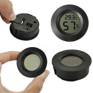 Digital Indoor Outdoor LCD Thermometer Hygrometer Temperature Humidity Meter