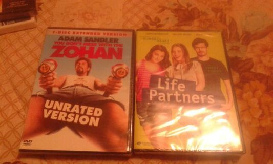 Two Brand New Unopened Dvds.Comedy. Please Read Description. No Gins.