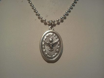 ~HOLY SPIRIT MEDALLION~COMES WITH FREE CHAIN~