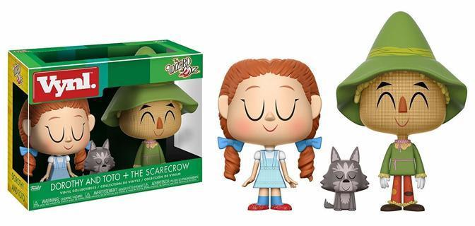NEW Funko Vynl: the Wizard of Oz Dorothy and Scarecrow Collectible Figure 2 Pack