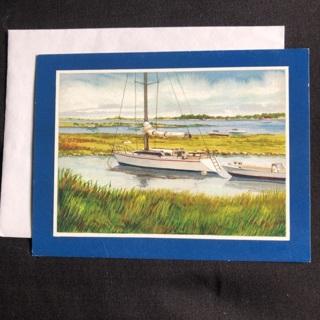 Boat Birthday Card ~ Last Chance!