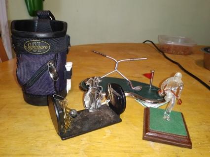 Golf Theme Desk Accessories